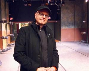 Ed Bennett in the Theater
