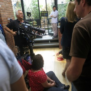 Bank of America Shoots Commercial in BMS Kitchen