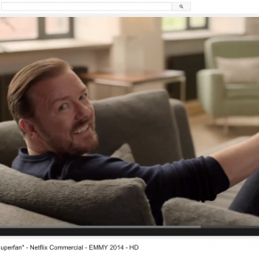 Netflix Commercial with Ricky Gervais : Shoots at BMS